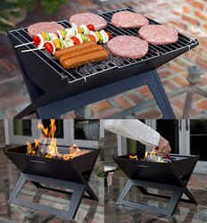 BBQ Barbeque Charcoal Grill Foldable (ITN-179-2)