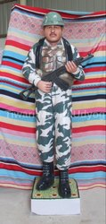 CRPF Soldier Statue