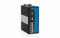 Managed DIN-Rail Industrial Ethernet Switches