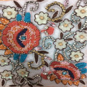 Beads Style Embroidery Work