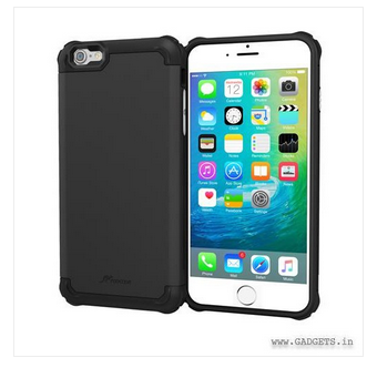new photos 94686 62e7e Roocase Exec Tough Pro Slim Fit Armor Case Cover For Apple Iphone 6 Plus /  6s Plus, Granite Black