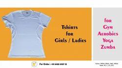 custom Girl Gym T Shirts