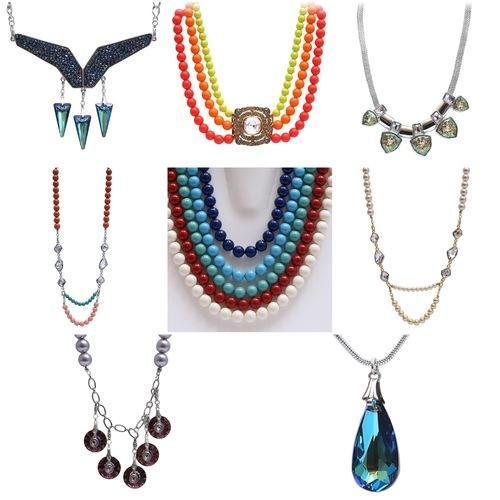 78c40308375ab4 Swarovski Crystals DIY Necklaces Fashion Jewellery at Rs 1099  piece ...