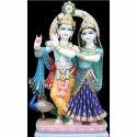 Designer Marble Radha Krishna Statue