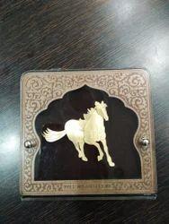 Horse Gold Leaf Frame 24 kt.