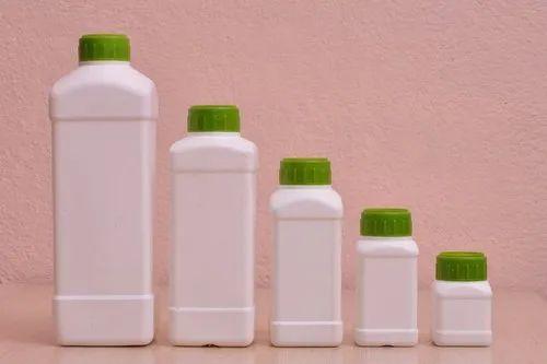 HDPE Rectangular Bottle
