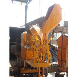 Semi-Automatic Cast Iron Concrete Mixer Machine