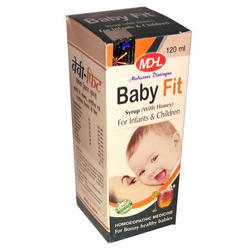 MDHL Baby Fit Syrup, Prescription, Packaging Size: 120 Ml