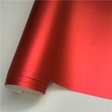 Red Matt Chrome Car Wrap Rolls, Packaging Type: Roll