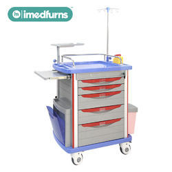 ABS Emergency Crash Cart Trolley