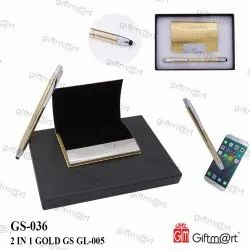Golden GS-036 2 in 1 Gold Gift Set, For Gifting
