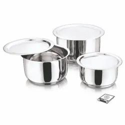 3 PCS. Royal Tope Set With LID
