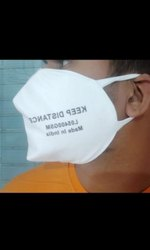 General Purpose Head Band Face Mask cotton with brand, Number of Layers: 3 Layers