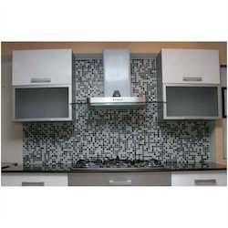Kitchen Splash Back Crystal Glass Mosaic Tiles