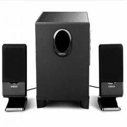 Black, Grey USB Speaker 2.1, 10w + 3w X 2