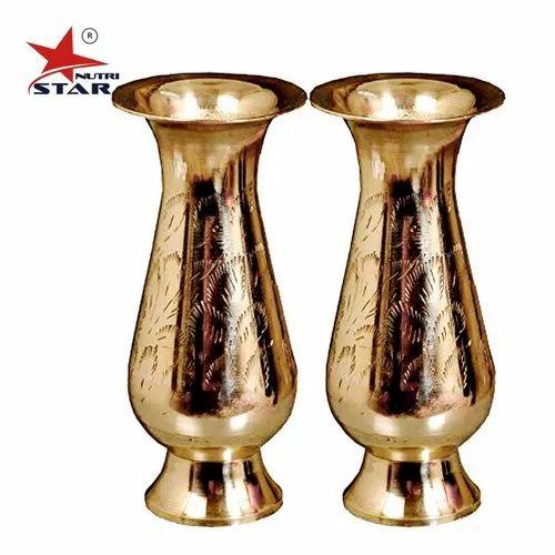 Antique Pure Brass Flower Vase