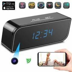 Hidden Camera Alarm Clock