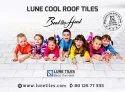 Solar Reflectance Index Terrace Cool Roof Tile