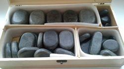 Aromablendz Hot Stone Set Of 45 Pieces Stones