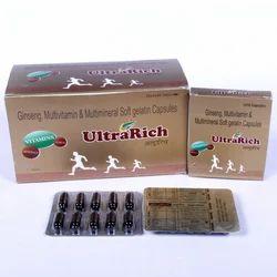Ginseng 42.5mg Multivitamins Multiminerals Nutrients
