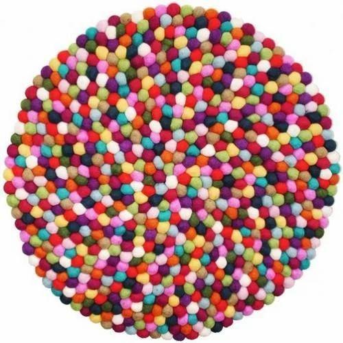 Sourabh Export Multicolor Felt Pom