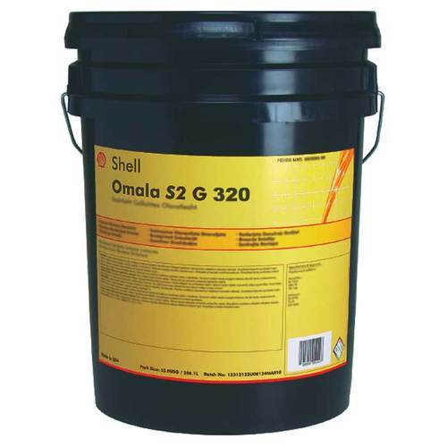 Shell Omala S2 G 320, Packaging Type: Bucket/Barrel