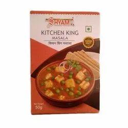 Shyam Kitchen King Masala, Packaging Size: 50g