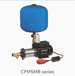 Crompton 1hp Pressure Booster Pump, Model Name/Number: CFMSMB05D