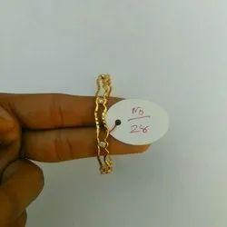 Fancy Casual Wear Brass Bangle, Packaging Type: Box