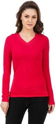 Plain Cotton Full Sleeves T Shirt