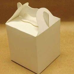 White Cake Box