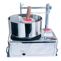 Stainless Steel Table Top Wet Grinder Machine, for Commercial, Grade: Semi Automatic