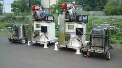 LPG System Thermoplastic Road Marking Machine