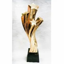 4-star Poly Fiber Curve Trophy