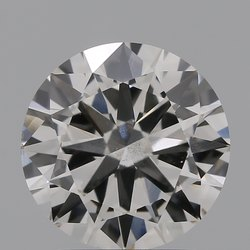 2.00ct Lab Grown Diamond CVD H SI1 Round Brilliant Cut IGI Certified