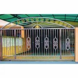 SS Main Gate Fabrication Service, Client Side