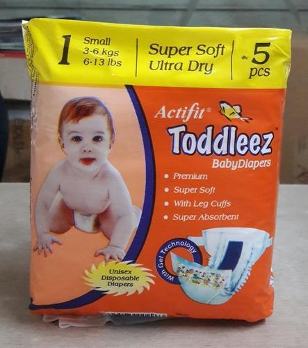 2f2d020e7 Toddleez Baby Diaper (Small) at Rs 7 /piece | Baby Diapers | ID ...