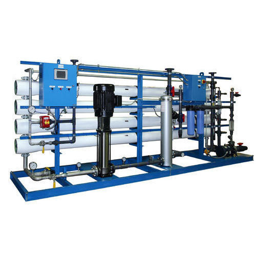 Automatic Stainless Steel And SS Powder Coating Industrial Reverse Osmosis Plant 100lph, Water Filteration