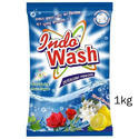 Indo Wash 1kg Detergent Powder, For Laundry, Packaging Type: Packet