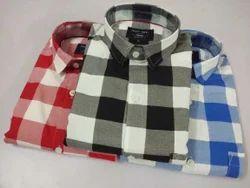 Multicolor Cotton Casual Shirts