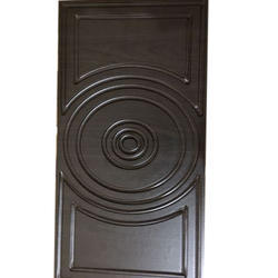 Dark Brown Latest Laminated Membrane Door
