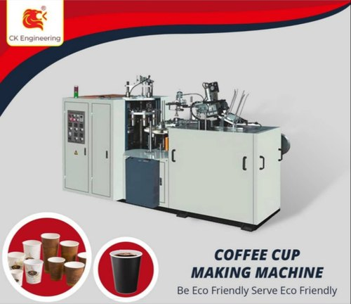 PE Coated CK Engineering Disposable Cup Making Machine