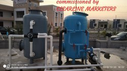 Clearion Make Pressure Sand Filter With Activated Carbon Filter