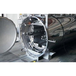 Rotary SS Autoclave Unit