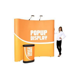 Curved Pop Up Stand
