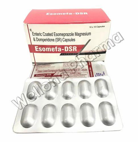 Esowell D Esomeprazole Domperidone Capsules Rs 50 Box Id