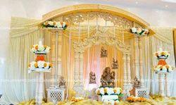 Double Pillar Wedding Mandap