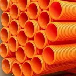 Orange Double Wall Corrugated Pipe
