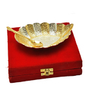 Silver And Gold Plated Serving Set