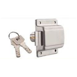 Cupboard Lock with Dimple Key 25 mm